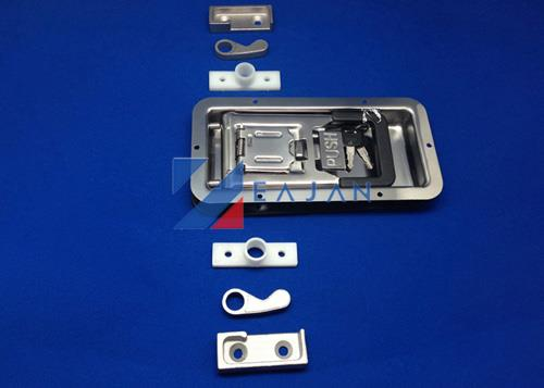 Dry Freight trailer recessed door lock
