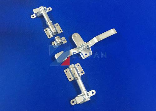 Truck body fittings trailer latch