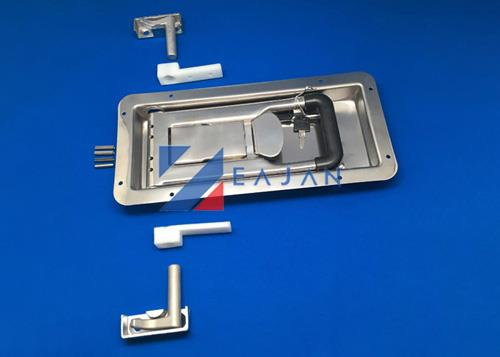 truck body parts trailer recessed door lock