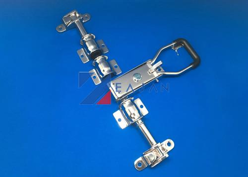 stainless steel polished door locking gear